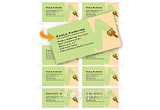 Business cards fonts
