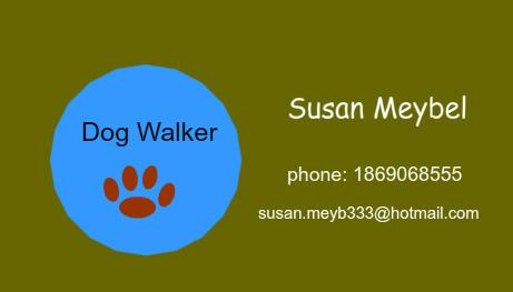 Dog walking business card ideas best business 2017 premium animal pet care business card templates dog walking colourmoves