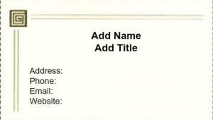 Use iClicknPrint templates to customize business cards