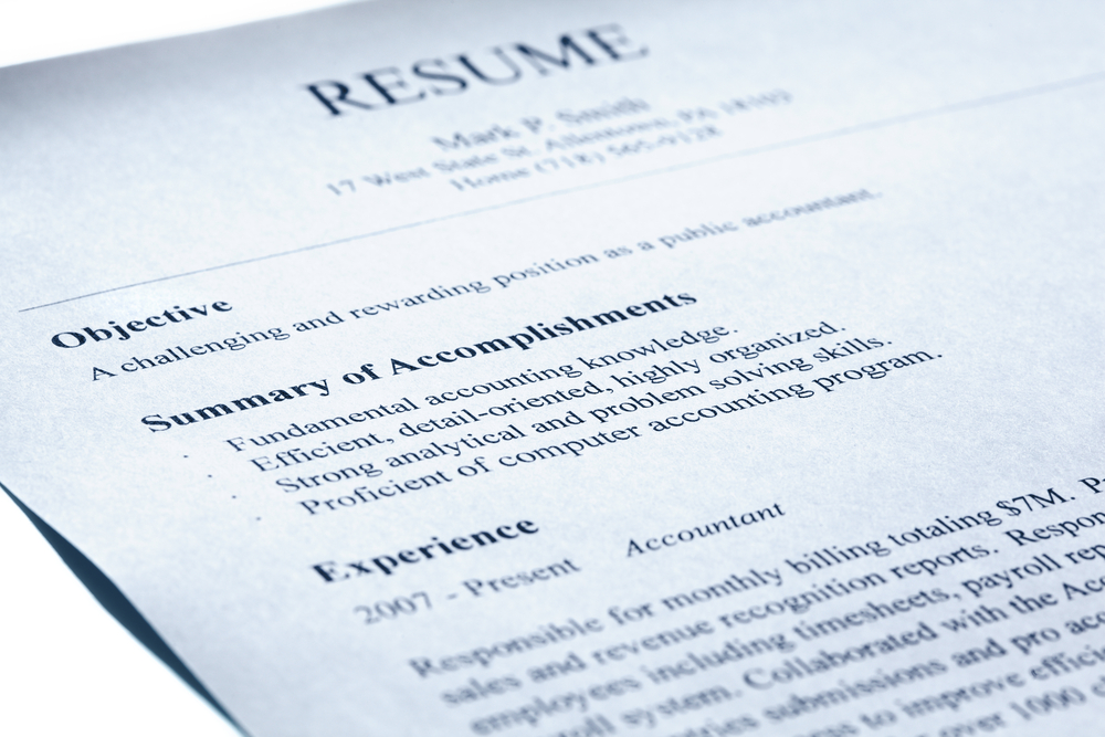 todays job market is competitive if youre searching for a new career you need to make sure that you stand out from the rest of the pack your resume is - What Is Resume Paper