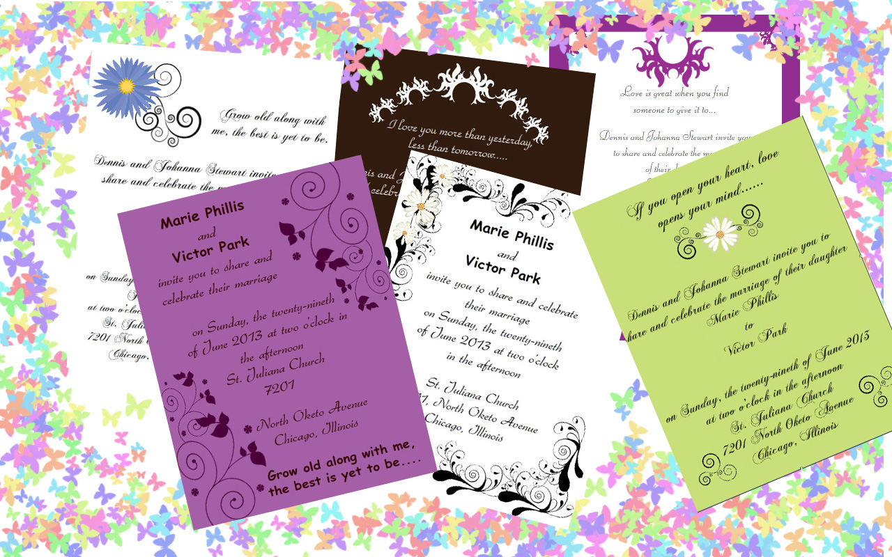 Design, Print Wedding Invitations with iClicknPrint